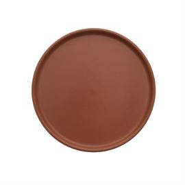 OYOY - INKA LUNCH / DESSERT PLATE SET VAN 2 - CARAMEL