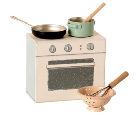 MAILEG - COOKING SET / KEUKEN FORNUIS