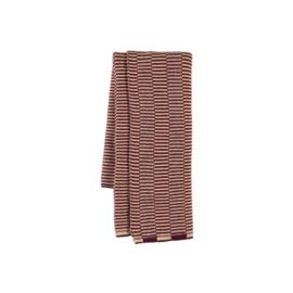 OYOY - STRINGA MINI TOWEL / HANDDOEKJE - AUBERGINE / ROSE