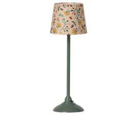 MAILEG - MINIATURE FLOOR LAMP / SCHEMERLAMP - DARK MINT