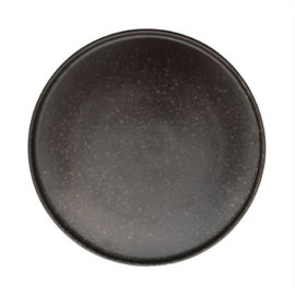 OYOY - INKA LUNCH / DESSERT PLATE SET VAN 2 - BROWN