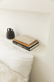 MONK & ANNA - LINEN NOTEBOOK S - STRUCTURED LINEN