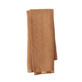 OYOY - STRINGA MINI TOWEL / HANDDOEKJE - CARAMEL / ROSE