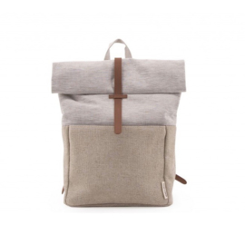 MONK & ANNA - HERB BACKPACK / RUGZAK - LINEN / JUTE