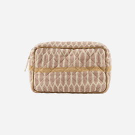 MERAKI - MAKE-UP BAG - MUSTARD / TERRACOTTA / SAND