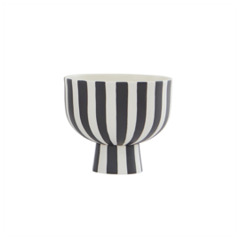 OYOY - TOPPU BOWL - WHITE / BLACK