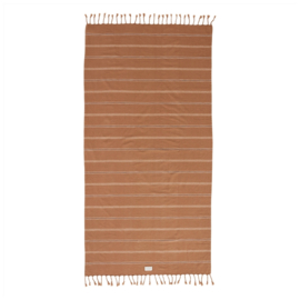 OYOY - KYOTA BATH TOWEL 165X92CM - DARK POWDER