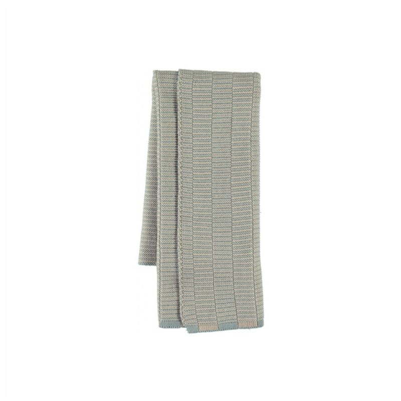 OYOY - STRINGA MINI TOWEL / HANDDOEKJE - PALE BLUE / CAMEL