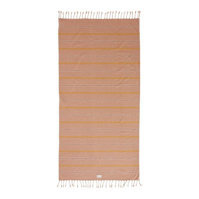 OYOY - KYOTA BATH TOWEL 165X92CM - DARK POWDER