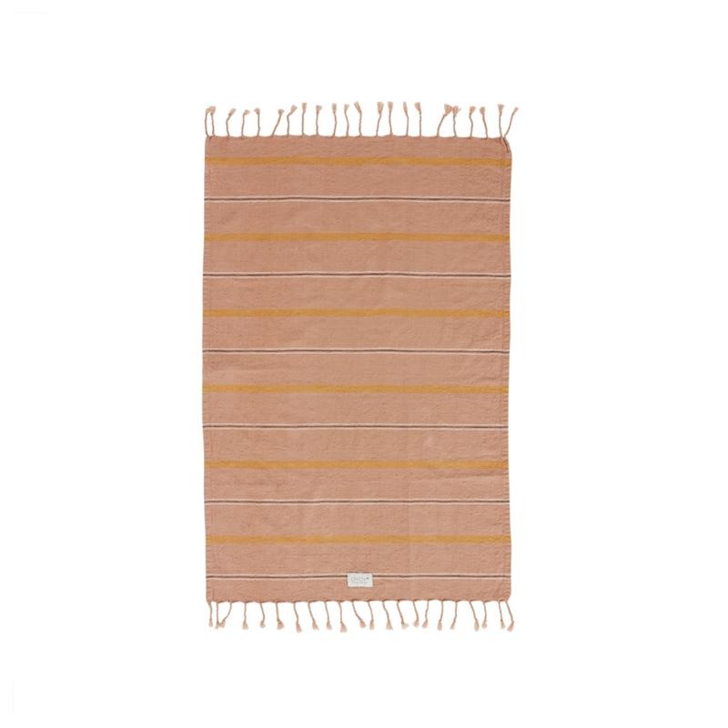 OYOY - KYOTA GUEST TOWEL 100x67CM - DARK POWDER