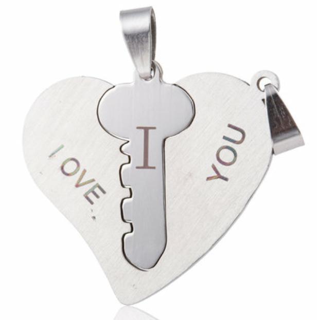 Best Friends heart key