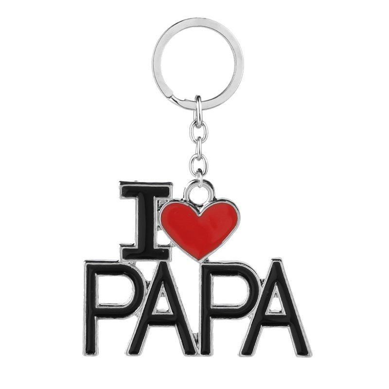 """Sleutelhanger """"I Love Papa"""""""