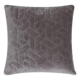 Cube Velvet  Soft grey