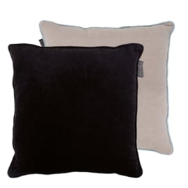 Faye Pillow Black 50x50