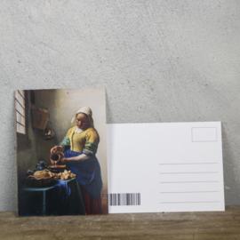 Postcard Melkmeisje