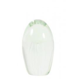 Jellyfish wit Ø8x13,5 cm