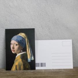 Postcard Meisje met de Parel