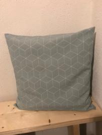 Kussen Hexagon Groen