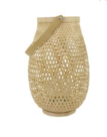 Lantaarn bamboe Leoni S