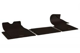 Renault Master 3-delig rubber matten 2010 - heden Art.nr M170302