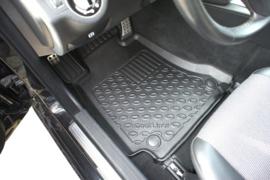 Automatten Kunststof  Schaalmatten Mercedes C W 204 Limousine 04.2007-02.2014