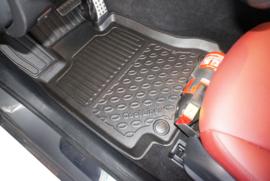 Automatten Kunststof  Schaalmatten Mercedes C W 205 Limousine 03.2014>
