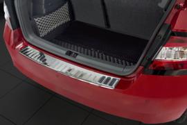 SKODA  FABIA III hatchback  2014->   Bescherming (strip) op de achterbumper - Zilver (Silver Satine)