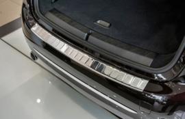 BMW  2 Gran Tourer  2015-> Bescherming (strip) op de achterbumper - Zwart of Zilver (Silver Satine)