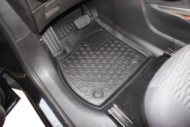 Automatten kunststof Schaalmatten Opel Zafira C Tourer 5 / 7 seats 01.2012>