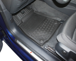 Automatten Kunststof  Schaalmatten Audi A4 (B9) Limousine & Quattro 11.2015>