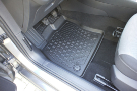 Schaalmatten synthetisch rubber SKODA Aristar 3D foot-liner