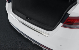 KIA  OPTIMA IV sedan   2015-> Bescherming (strip) op de achterbumper -  Zilver (Silver Satine)