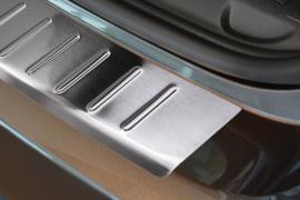 PEUGEOT  308 SW  2014->  Bescherming (strip) op de achterbumper - Zilver (Silver Satine)