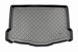 Kofferbakmat Nissan Qashqai II J11 (Acenta + Tekna) SUV/5 02.2014- lower boot with mini spare tyre (variable floor removed) 02.2014>