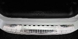 FIAT  500L  Facelift 2017>   Bescherming (strip) op de achterbumper -  Zilver (Silver Satine)