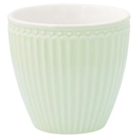 Greengate Latte cup/beker Alice pale green.