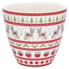 Latte cup/beker Bambi white
