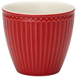 Greengate Latte cup/beker Alice red.