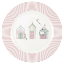 Greengate Kids plate Ellison pale pink