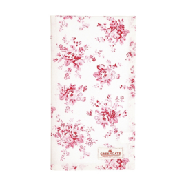Greengate Theedoek / tea towel Abelone raspberry