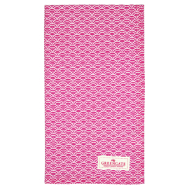 Greengate Theedoek / tea towel Nancy red