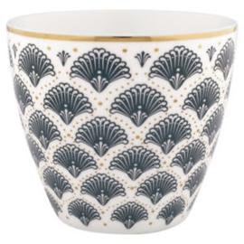 Greengate Latte cup/beker Elvina grey.