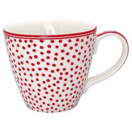 Greengate Mug/beker dot white