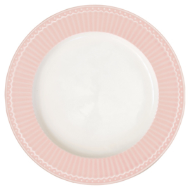 Ontbijtbord/plate Alice pale pink.