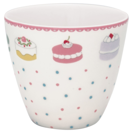 Greengate Latte cup/beker Madelyn white.