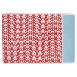 Greengate buttering board/boterbord Nancy red.