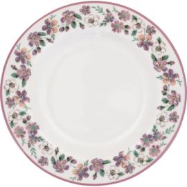 Greengate Gebaksbordje/small plate Marie petit dusty rose.
