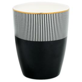 Greengate Latte cup/beker Corine black.