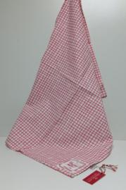 Greengate Theedoek /tea towel  Frederikke raspberry