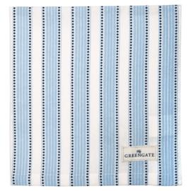 Greengate Napkin/servet Alberta blue 40x40cm